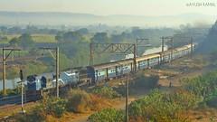Tuticorin - Okha Vivek Express (AyushKamal2014) Tags: kamshet 11126 vtawdm3d tuticorinokhavivekexpress