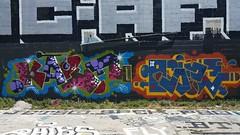 Kaput  & OG23... (colourourcity) Tags: streetart graffiti fly awesome melbourne flies burner joiner nofilters theboneyard burncity og23 colourourcity offguts
