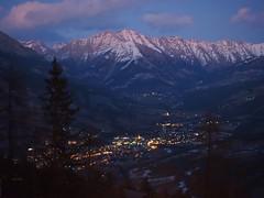Barcelonnette depuis Pra-Loup (merlaudp) Tags: mountain alps montagne alpes evening olympus soir ubaye praloup barcelonnette