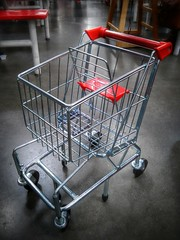 Toy Shopping Cart (ThePolaroidGuy [CensoredϟRestricted]) Tags: red metal silver shopping ed toy florida shoppingcart plastic edward sarasota cart drake buggy hdr masterphotographer my3rdeye edwarddrake thepolaroidguy