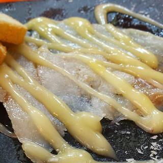 bacalao #ahumado con #mayonesa de #citricos...