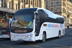Parks of Hamilton National Express KSK983 (Will Swain) Tags: uk travel england west bus buses town bradford britain yorkshire transport hamilton january parks vehicles national vehicle express 16th seen 2016 ksk983