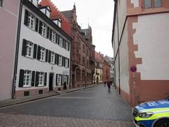 View down Gauchstrasse (jlarsen2006) Tags: city germany europe medieval historic freiburg breisgau