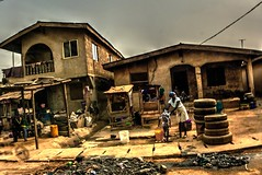sanitation day (azziR1) Tags: africa vita villaggio azzir1