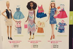 5. Fashionista 2016 Booklet (Foxy Belle) Tags: toy book doll barbie diversity curvy tall booklet fashionista catalogue mattel petite fashionistas 2016