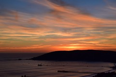 Beautiful SLO Sunset || Avila Beach, CA || February 2016 (Jessica Krtek) Tags: ocean california ca sunset sky beach beautiful cali coast pacific pacificocean coastal westcoast slo sanluisobispo avila avilabeach