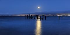 Moonrise over San Francisco Bay. Sausalito, CA. (Craig Hudson Photography) Tags: california ca longexposure usa northerncalifornia unitedstates moonrise marincounty sanfranciscobay norcal sausalito sausalitowaterfront supermoon