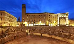 LECCE ANFITEATRO ROMANO (Aristide Mazzarella) Tags: canon wideangle romano grandangolo salento lecce anfiteatro aristide anfiteatroromano mazzarella