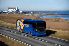 together in electric dreams (D Stazicker Photography) Tags: road volvo great north a1 megabus torness 54210 b11r sf62czn