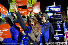 Clean Energy Support (Greenpeace USA 2015) Tags: usa democracy durham newhampshire vote republican democrat keepitintheground