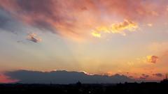 #6718 sunset and clouds (Nemo's great uncle) Tags: sunset  setagaya  setagayaku tky  seij  fujimibashi