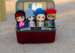 Girls waiting for their close ups. (_plastic_fashion) Tags: cute doll blythe blythedoll dollphotography plasticfashion