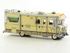 Dale's RV from The Walking Dead (Mad physicist) Tags: lego dale rv zombies winnebago 122 chieftain horvath thewalkingdead apocalego