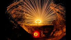 Tunnel Lapse - Theres a light (MAGIC PASSION * PHOTOGRAPHY *) Tags: bridge light motion art wool bulb night subway stars photography timelapse video time steel sony tube creative tunnel clip stop layers animated stacking alpha lapse stopmotion videography sonyalpha lightpainting4life magicpassionphotography sonyfansworldwide shutupandlightupthetunnel