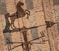 Windfahne Mix (stefanbellini) Tags: wind pferd raster wetterfahne windfahne himmelsrichtung