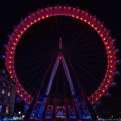 49/366 (danieljcoomber) Tags: england london wheel millenniumwheel night unitedkingdom londoneye southbank gb sigma816