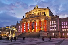 Gendarmenmarkt | Berlin | Ai WeiWei (gordongross) Tags: berlin gendarmenmarkt cinemaforpeace aiweiwei