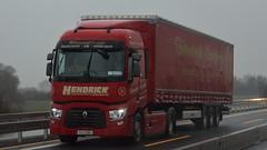 IRL - Hendrick European Renault Range T 2a (BonsaiTruck) Tags: truck renault lorry camion trucks range lastwagen lorries lkw hendrick lastzug