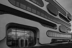 quarter (marcuslange) Tags: blackandwhite architecture modern square squares hamburg wideangle architektur quarter 1ds ultrawide modernarchitecture eos1ds ultrawideangle 1740mml eos1dsmarkii ef1740mml eos1dsmark2
