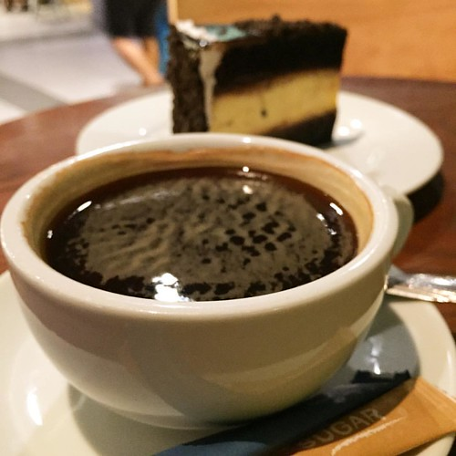 #coffee #americano #cake #cheese #dessert #drink