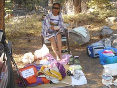 Tired and hungry girl (Tim Berger) Tags: bear tahoe trail endurance pacing pacer trailrun freel philcox tahoerimtrail mountainrunning skyrunner ultrarunner tahoe200 ingridhonrado 2014tahoe200 ultradistancerun 200milerun