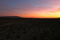 Essex, California (UW1983) Tags: california sunset trains freighttrains essex bnsf railroads desertrailroading