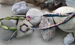 (katerina66) Tags: necklace beads handmade jewellery polymerclay ribbon handmadejewellery silksari κολιέ κοσμήματα χειροποίητο ρομαντικο πολυμερικόσάργιλοσ