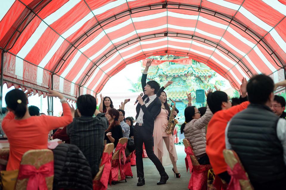 婚禮攝影-台南北門露天流水席-068
