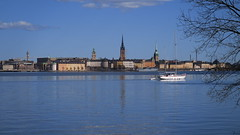 Time to put the boats into the sea! (mpersson60) Tags: sea boat sweden stockholm sverige bt sj