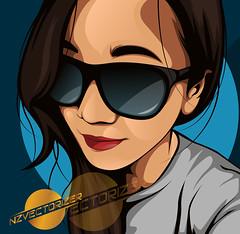 vcvcv (zarra.nadilla) Tags: art indonesia model artist comic order vectorart awesome popart vector ilustrator randi zarra collor vexel vectorxvexel nadillazarra