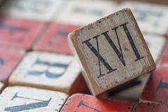 Old Wooden Block (NedraI) Tags: old macro toy wooden antique blocks block alphabet inheritance romannumeral 1870