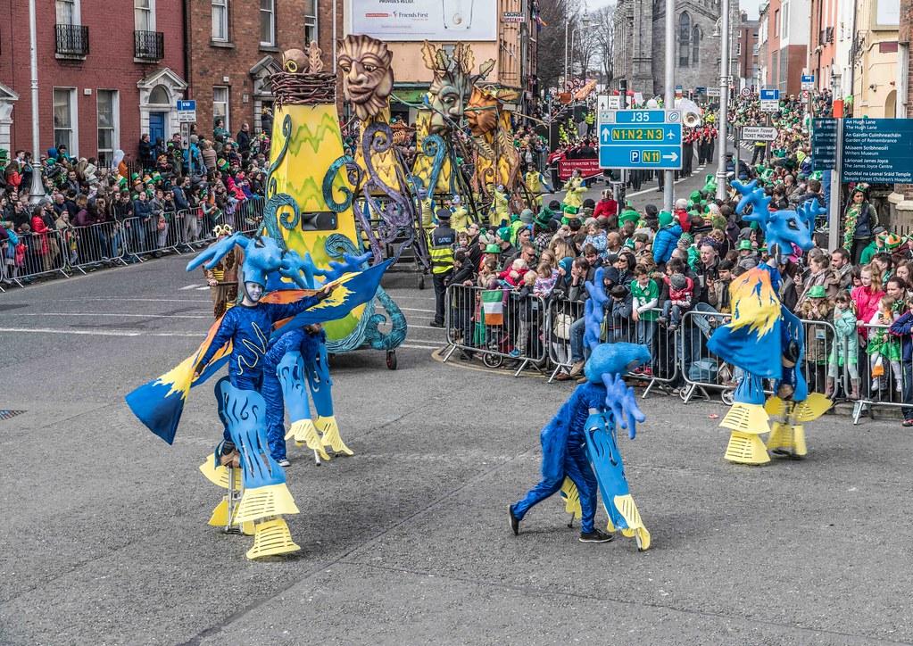 Dowtcha Puppet's At The St.Patrick's Parade [Dublin 2016]-112507