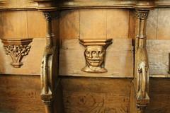 Oude Kerk detail (firepile) Tags: amsterdam oldchurch oudekerk