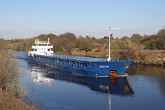 'Nestor' Cadishead 19th April 2016 (John Eyres) Tags: manchester canal ship april 19th nestor 2016 manchestershipcanal cadishead