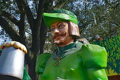 """Robin Hood"" (BKHagar *Kim*) Tags: street carnival beads neworleans parade celebration napoleon nola mardigras float robinhood throws prytania kreweoftucks bkhagar"