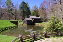 Mabry Mill - springtime (InnAtElmwood) Tags: geotagged virginia spring pentax kr blueridgeparkway mabrymill meadowsofdan innatelmwood