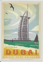 UAE - Dubai (kandilareyna) Tags: poster postcard adg andersondesigngroup