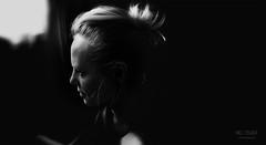 M E (* Mel Fisher *) Tags: she lighting shadow portrait bw white black detail love me monochrome face look closeup self dark fun hope grey one blackwhite gesicht shine know spirit fineart pray free portrt spotlight clear believe soul thinking thankful sw motive awake frau awareness fein miss sein schwarzweiss ich schatten haare selfie mensch herself fokus lichtspiel worthit schein lichtschatten einfarbig kontur shiluette umriss startanew trueyou feelfreetobeme