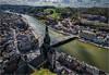 Dinant and the Meuse (Eric@focus) Tags: city church buildings river bank hills soe birdseyeview dinant meuse highview wallonia greatphotographers abigfave tokinaaf1116mmf28 thebestoftokina1116mmf28 vividstriking nikond7100 opticalexcellence