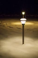 Yard Lights (ri Sa) Tags: winter snow night yard finland lights sipoo