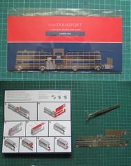 Stainless steel RM (kingsway john) Tags: model steel routemaster stainless foldup wwwanotherstudiocom