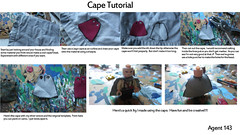 Cape Tutorial (AlienHunter143) Tags: lego fig cape cloak custom ra tut tutorial alienhunter143
