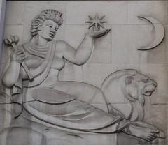 The Gods... (jmaxtours) Tags: toronto ontario bank luna gods basrelief selene greekgods torontoontario thegods bankofnovascotia romangods thebankofnovascotia