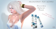 April Fools' Day  (Petite Chouky) Tags: life beauty natural lol invisible joke fresh sl second deodorant foolsday