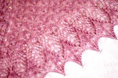 _DSC0047 (KateSi) Tags: pink rose lace rosa shawl rosada maglia sjal chal chle tricoter strikke echoflowers hacerpuntos
