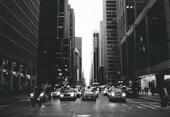 52270009 (White-Shadows) Tags: road new york city light sky white black cars film luces high nikon traffic carretera manhattan ciudad cielo pelicula alto carrete coches trafico