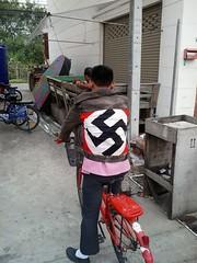 Some guy in Pattaya, Thailand (fbormanator) Tags: swastika