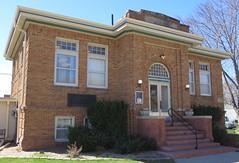 Carnegie Library (Ravenna, Nebraska) (courthouselover) Tags: nebraska libraries ne ravenna buffalocounty carnegielibraries