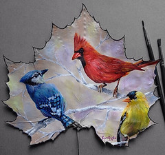 Awesome Leaf Painting (PhotographyPLUS) Tags: pictures graphics photos illustrations images stockphotos articles footage stockimage freephoto stockphotograph