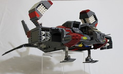 Dropship progress update v1.3-012 (dschlumpp) Tags: lego space aliens spaceship moc dropship